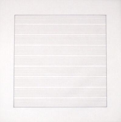 Agnes Martin, 'VIII', 1991