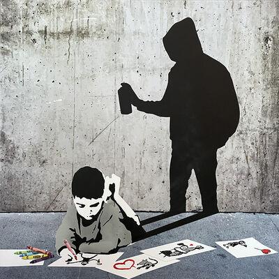 Thirsty Bstrd, 'When I Grow Up...(Street Artist) - Série 1', 2021