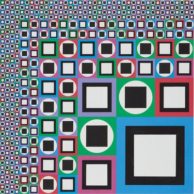 Victor Vasarely, 'Mow', 1980
