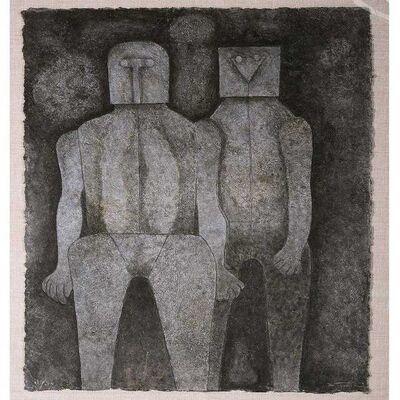 Rufino Tamayo, 'Dos Hermanos ( Two Brothers)', 1987