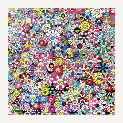 Takashi Murakami, 'The Future will Be Full of Smile! For Sure!', 2020
