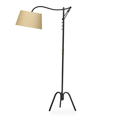 Style of Jean Royère, 'Adjustable floor lamp, France', 1940