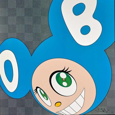 Takashi Murakami, 'And Then x 5 (Aqua Blue)', 1999