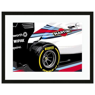 Joel Clark, 'Speed Icons Williams Grand Prix FW36 F1 Car | Automotive ', 2018
