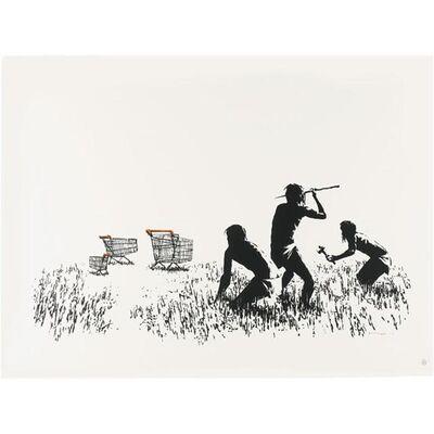 Banksy, 'Trolley Hunters', 2006