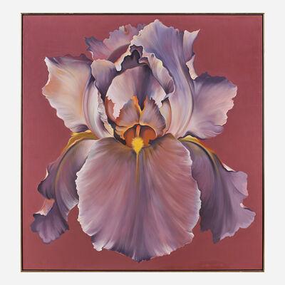 Lowell Nesbitt, 'Rose Violet Iris', 1971