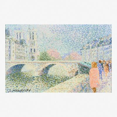 Serge Mendjisky, 'Untitled (Paris Bridge)'