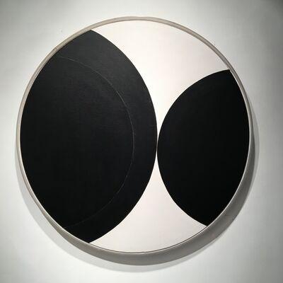 Leon Polk Smith, 'Black-White-Black', 1954