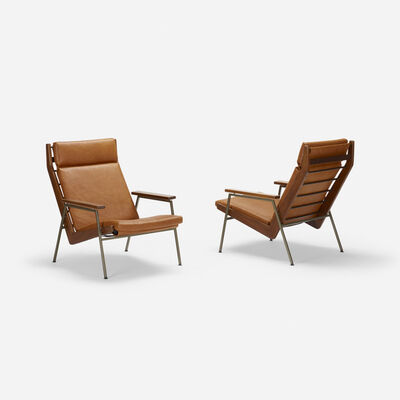 Rob Parry, 'Lotus lounge chairs, pair', c. 1955