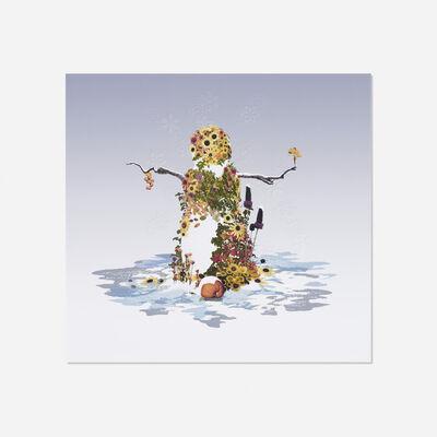 David Robbins, 'Sunflower Snowman', 2006