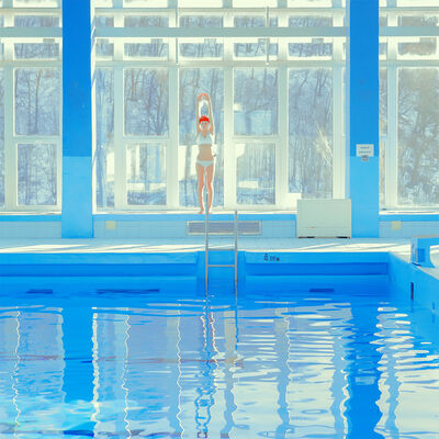 Maria Svarbova, 'Snow Pool 4,00m'