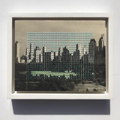 Nina Tichava, 'Borrowed Landscapes Study No.167/ NY, NYC, Central Park Skyline', 2018