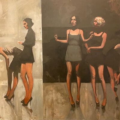 "Michael Carson, '""Internal Monologues""', 2021"