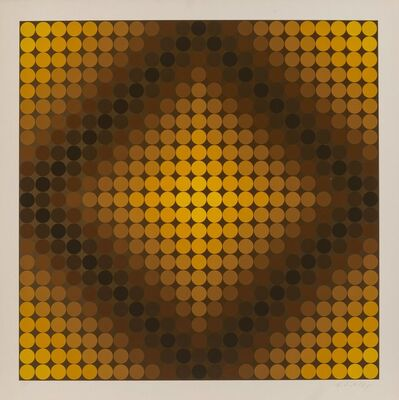 Victor Vasarely, 'DiaC', 1968