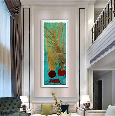 Dale Chihuly, 'Dale Chihuly Original Diptych Acrylic Painting Signed Contemporary Art', 1970-2010