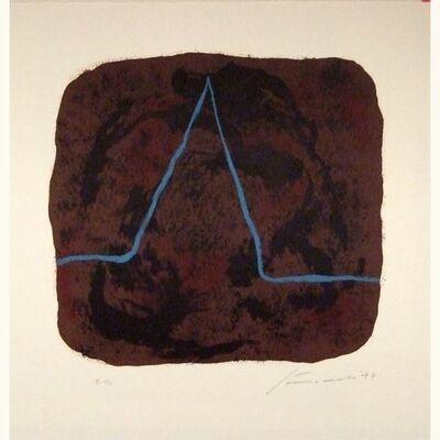 Giuseppe Santomaso, 'Nietzsche ', 1977