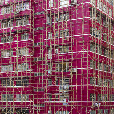 Peter Steinhauer, 'Rouge Cocoon Cage, Hong Kong'