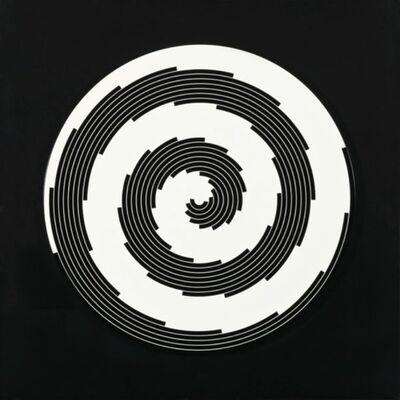 Marina Apollonio, 'Dinamiche Circolare Spirale 2 Giri', 1968 -2011