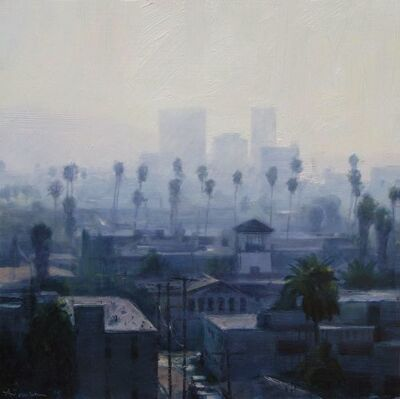Ben Aronson, 'Palms and Haze', 2014
