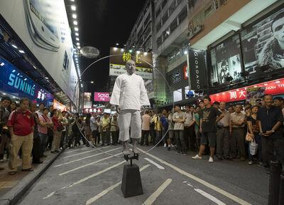 Ho Siu-Kee, 'Aureola No. 13 – Mongkok', 2012