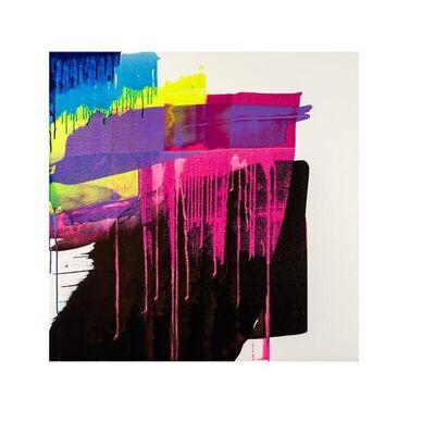 Ken Tate, 'Luminous Portrait/ Raspberry and Black'