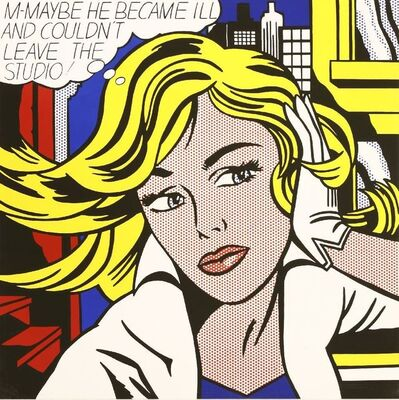 After Roy Lichtenstein, 'STUDIO'