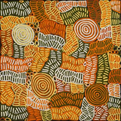 Betty Mbitjana, 'Bush Melon and Awelye', 2012