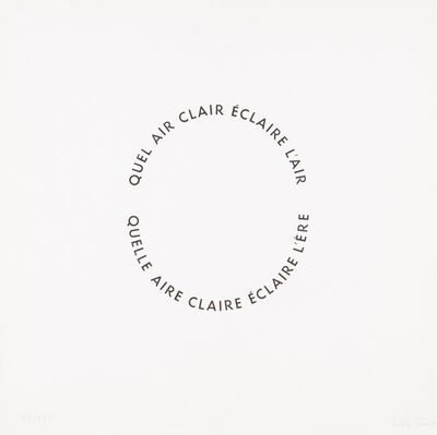 "Salette Tavares, '""Quel Air Clair"", 1963'"