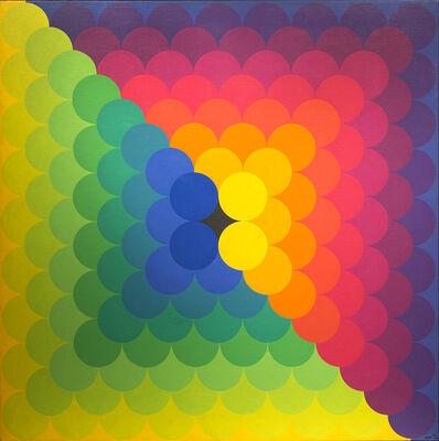 Herbert Bayer, 'Chromatic Amassment', 1971