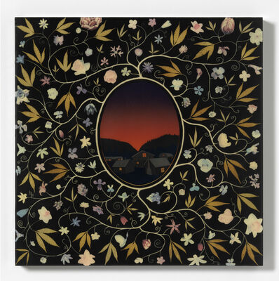 Fred Tomaselli, 'Study for New Jerusalem', 1998