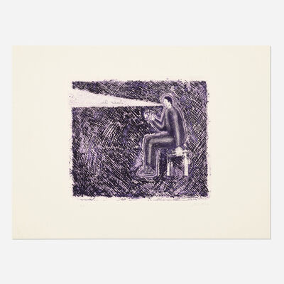 Sandro Chia, 'Creative Act', 1980