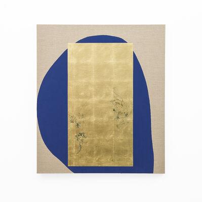 Pierre Vermeulen, 'Hair orchid sweat print, blue form', 2018