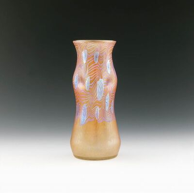 Johann Lötz Witwe, Klostermühle, 'Vase', 1902