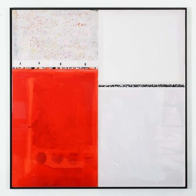 Edouard BUZON, 'Composition Rouge', 2021