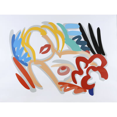 Tom Wesselmann, 'Big Blonde', 1989