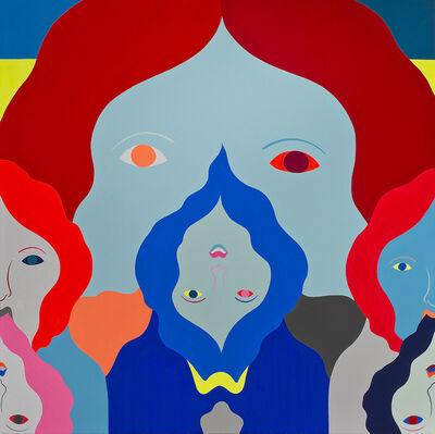 Richard Colman, 'Noise Painting (7 Faces)', 2014