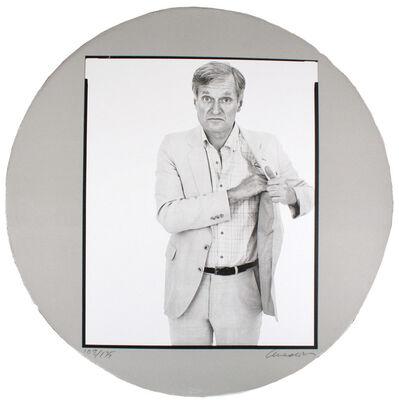 Richard Avedon, 'Self-Portrait in a Convex Mirror', San Francisco: Arion Press-1984.