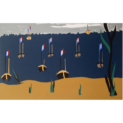 Jacob Lawrence, 'Flotilla', 1996