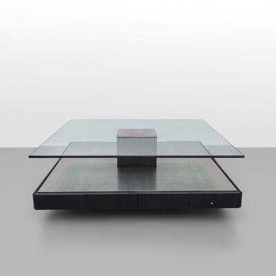 Marco Fantoni, 'A coffee table on wheels', 1971