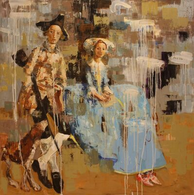 Rimi Yang, 'Mr. and Mrs. (After Gainsborough)', 2012