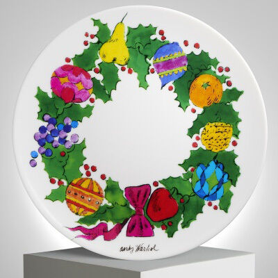 Andy Warhol, 'Christmas Wreath Plate by Andy Warhol', 2018