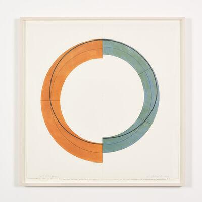 Robert Mangold, 'Split Ring Image', 2009