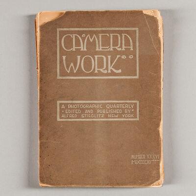 Alfred Stieglitz, 'Camera Work, Number 36', 1911