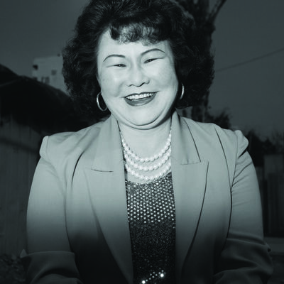 Heinkuhn Oh, 'Ajumma wearing a pearl necklace, February 25', 1997