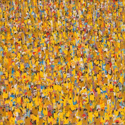 Ablade Glover, 'Yellow People II', 2014