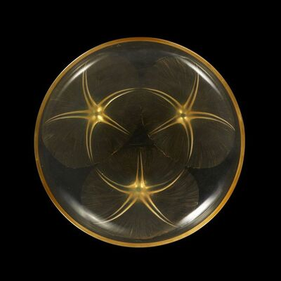 Volubilis', 'No.383, a Lalique opalescent yellow glass bowl', Designed 1921