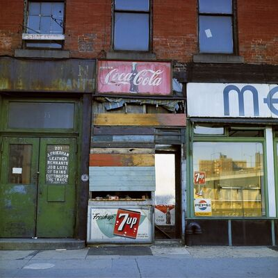 Michel Hosszu, ' COCA COLA 7UP – NEW YORK 1964 ', 1964