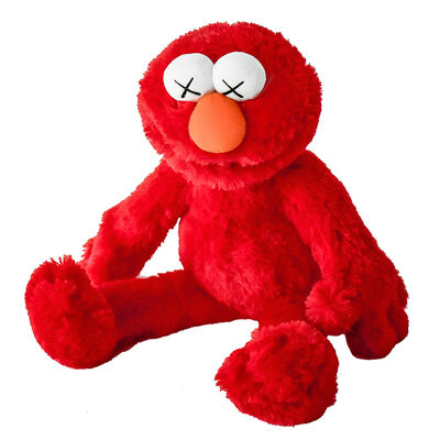 KAWS, 'ELMO PLUSH', 2018