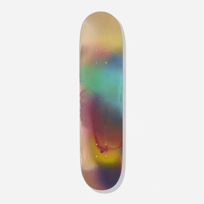 Katharina Grosse, 'Untitled (skateboard deck)', 2006