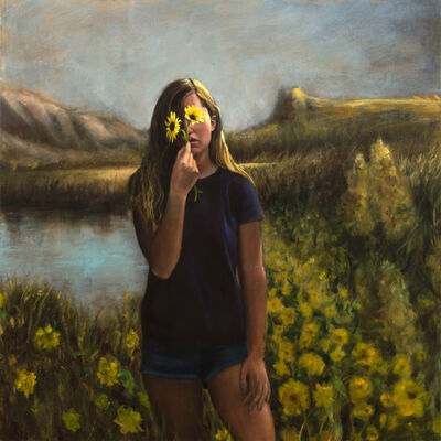 Jesse Nickell, 'Portrait of a Lost Girl', 2017